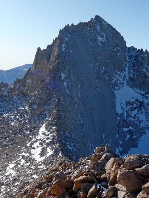 Mount Russell's East Ridge