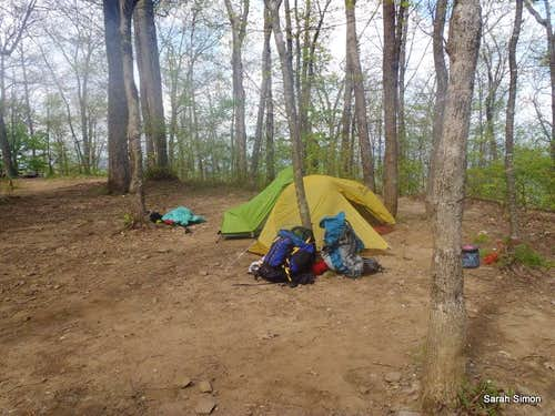 Camping, Blue Mountain Shelter (1)