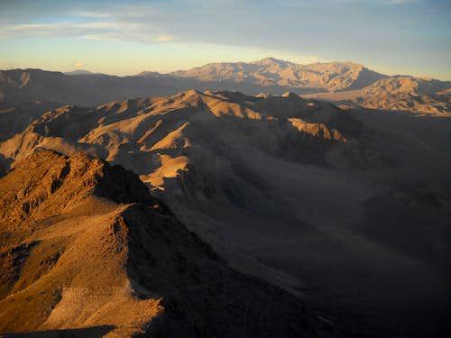 From Ubehebe Peak