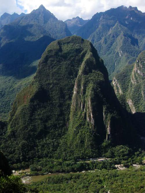 Putucusi from Machu Picchu