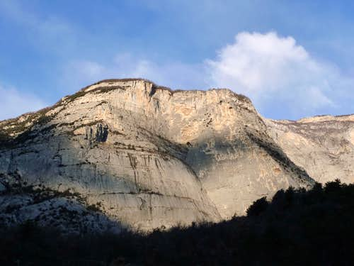 Cima alle Coste SE face, Sarca Valley