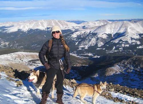 Missing Husky on Quandary Peak