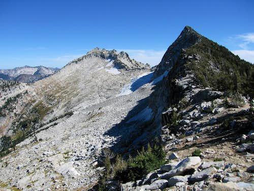 Caesar Peak and Thompson Peak