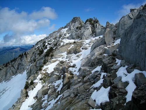 West Ridge of Caesar Peak