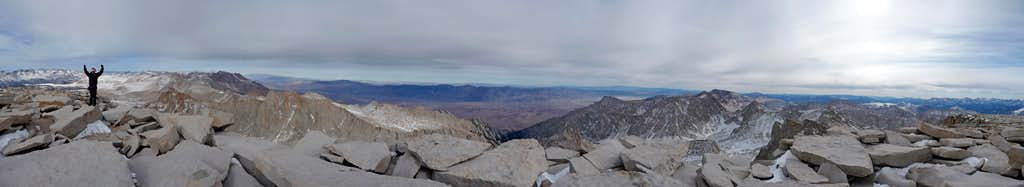 Mount Whitney Summit Panorama