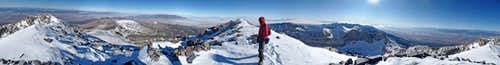 Wheeler Peak Summit Panorama