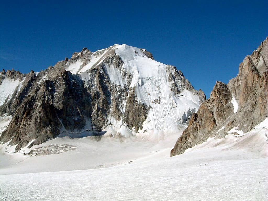 Saleina Glacier and Aiguille d'Argentiere