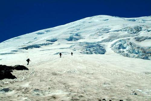 Above Camp Schurman