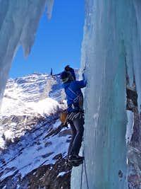 Ice climbing - Cascade de Bonatchiesse