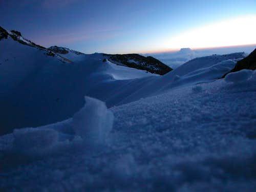 Plenty of snow on Izta on...