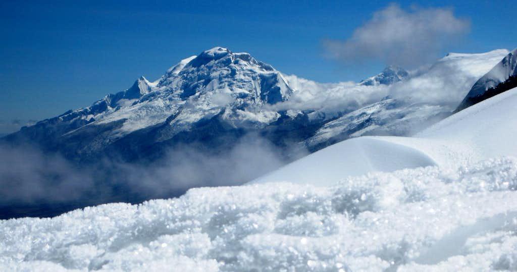 Huascarán panorama