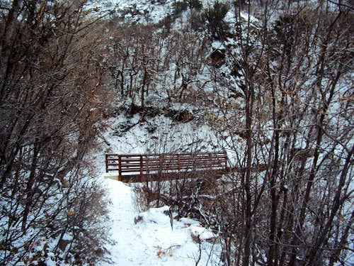 Bridge on Great Western Trail