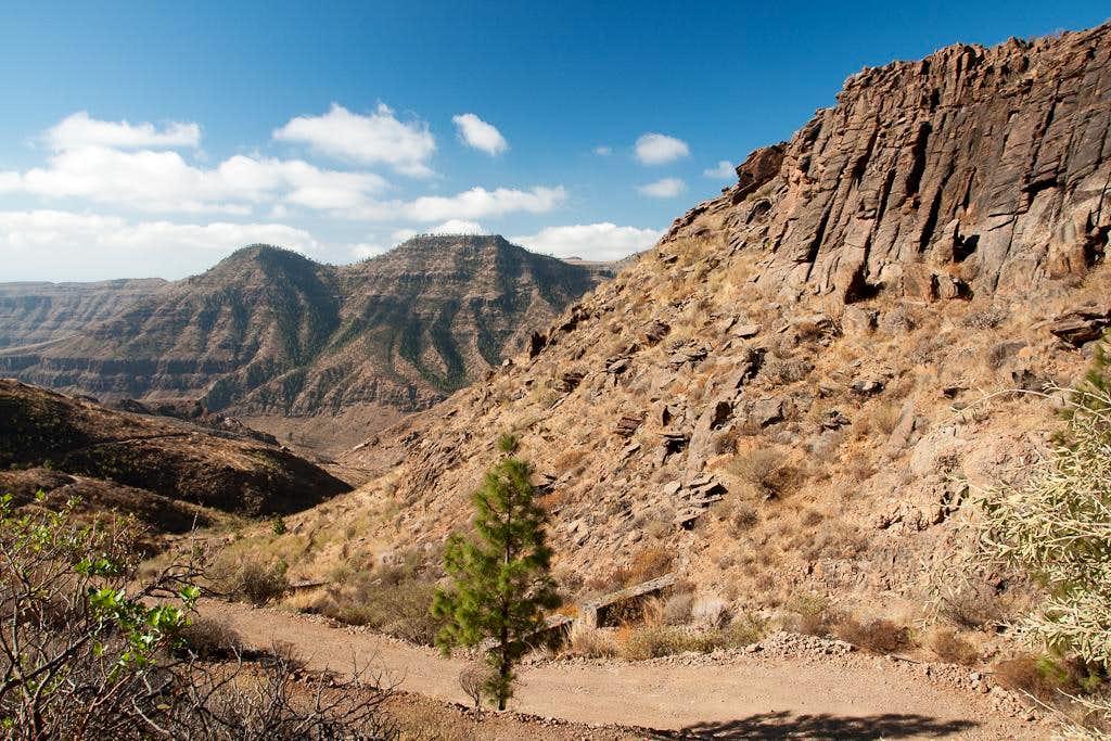 Montaña de Pino de Eugenio and Montaña Alta