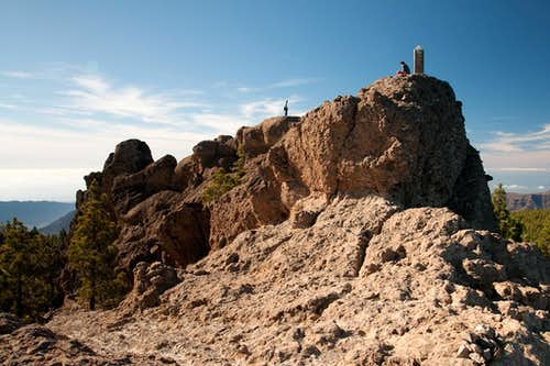 The summit of El Campanario