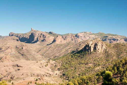 Roque Nublo, Pico de las Nieves and Morro de Pajonales