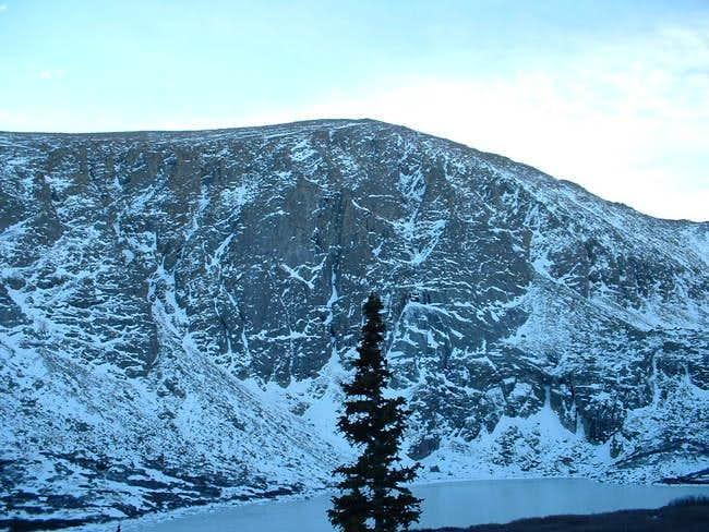 11/7/04: Mount Warren, as...