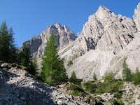 Kleine Gamswiesenspitze Nordostkante