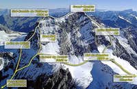 Grand Combin - Routes