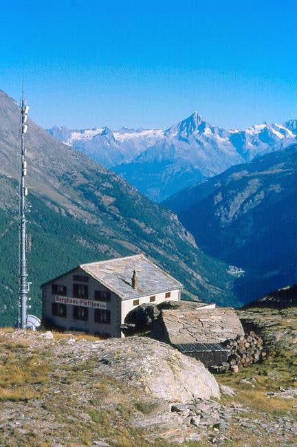 Bietschhorn as seen from the...