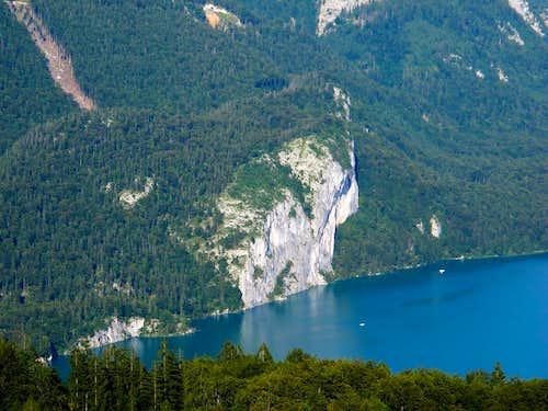 Lake Wolfgangsee and
