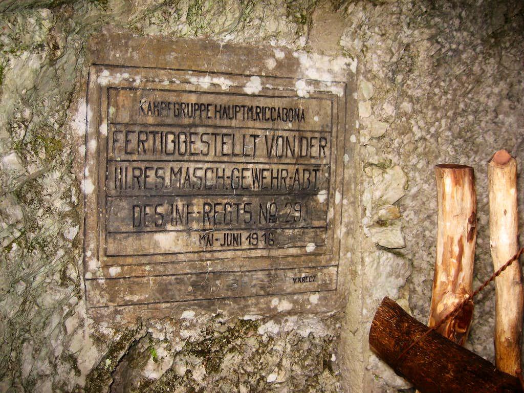 Ludwig Riccabona Cave