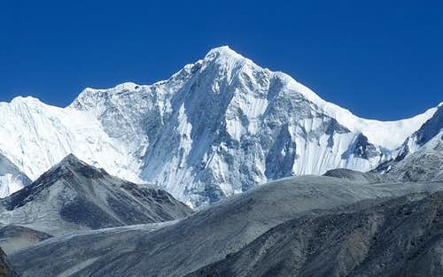Baruntse seen from south from...