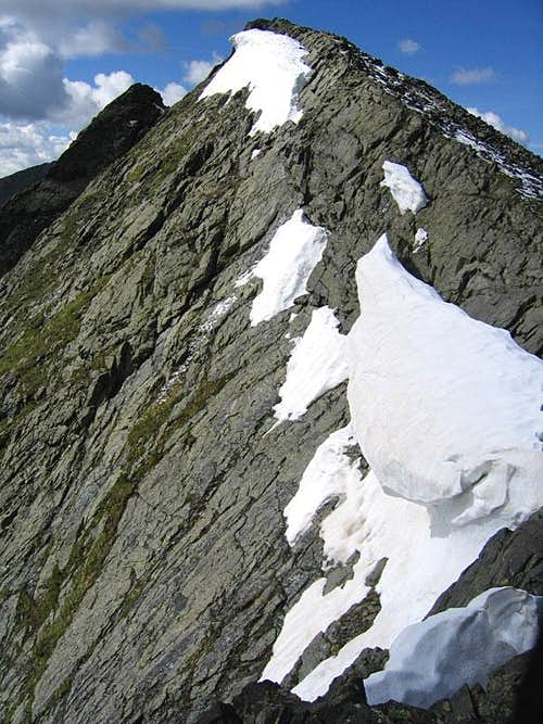 Cliffs and remnant cornices