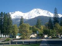 Mount Shasta, the mountain,...