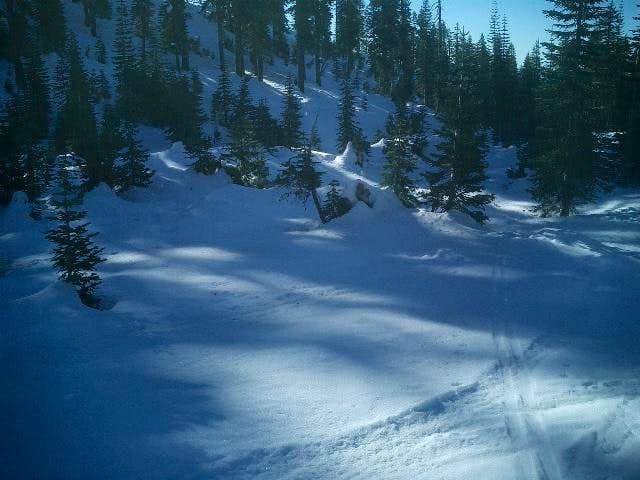 Beautiful, heavy snow,...