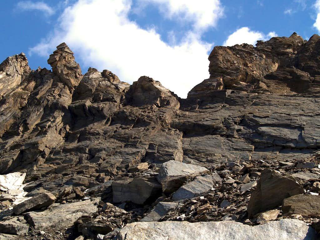 Mont Moussaillon with E-NE Ridge
