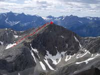 Scramble route on Schlee