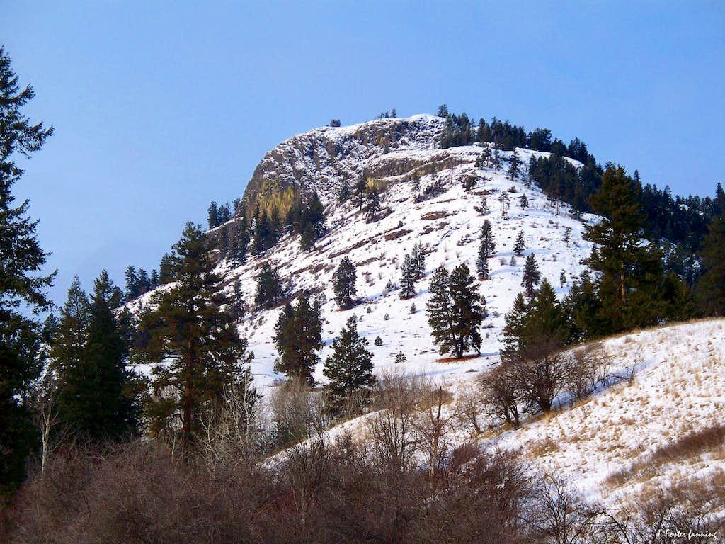 Southern Shoulder of Mount Elizabeth