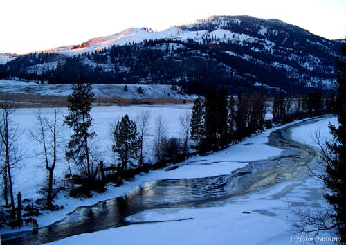 Graphite Mountain, Kettle River Valley