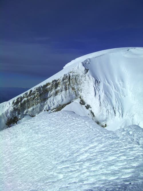 Mount Baker\'s Summit