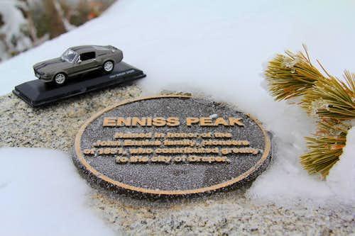 Enniss Peak.