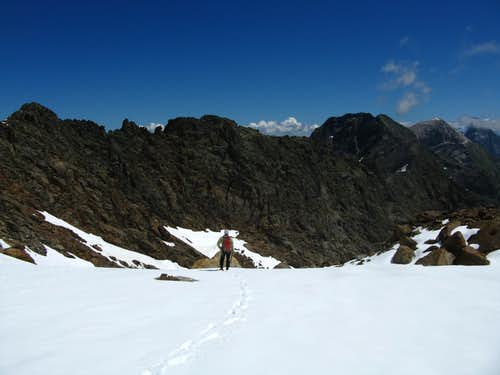 The upper snow-basin