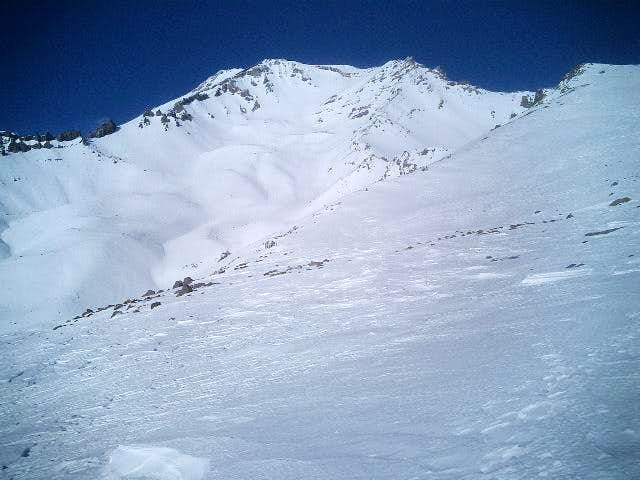 Above Avalanche Gulch and...