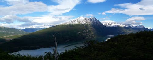 Cerro Condor and Lago Roca