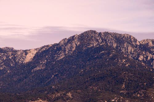 Lily Rock and Tahquitz Peak