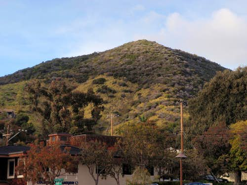 Aliso Peak South Face