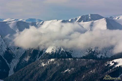 Kotlova and Hlina ridges