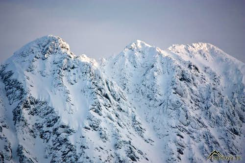 Three summits of Granaty