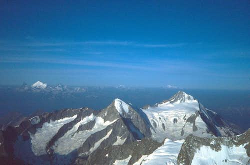 Nesthorn and Bietschhorn from...