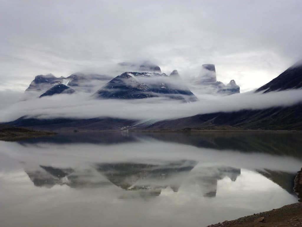 Clouds lifting from Asgard