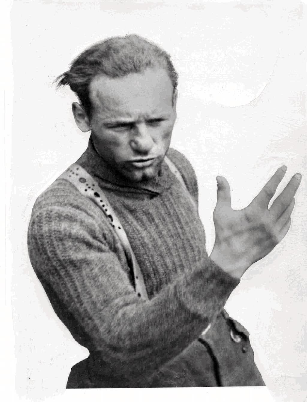 Riccardo Cassin 1938