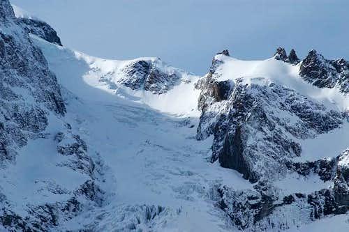 Glacier de l'Homme. L'Aigle...
