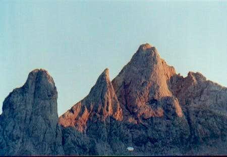 Torre Cerredo in Summer.