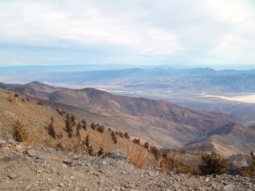 View looking north from Telescope Peak