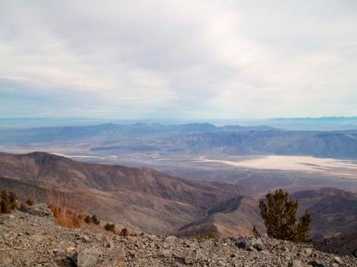 View from the summit of Telescope towards Death Valley