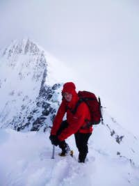 Ben Nevis CMD arete and Ledge Route